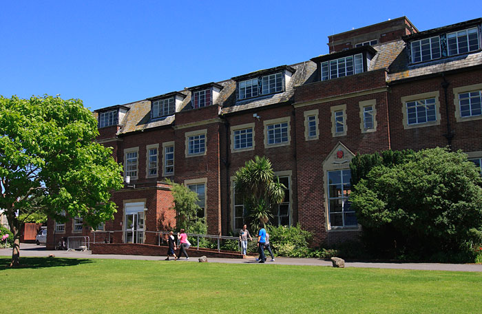 St_Lukes_College_Exeter_main_building_